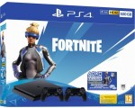 Žaidimų konsolė Sony Playstation 4 500GB + Fortnite + 2 x Dualshock